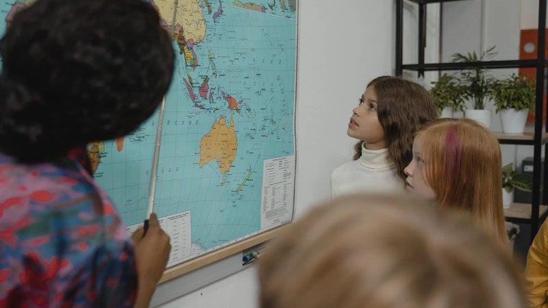 Produk Asuransi Pendidikan Prudential - Peta Dunia