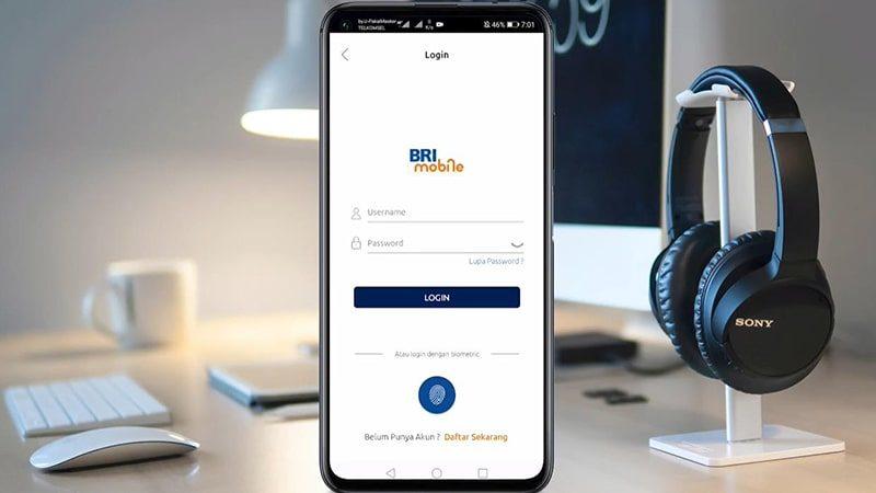 Cara menggunakan m-banking BRI - Brimo