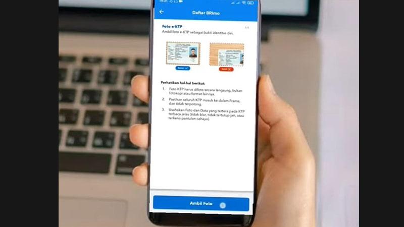 Cara transfer m-banking BRI - Aplikasi