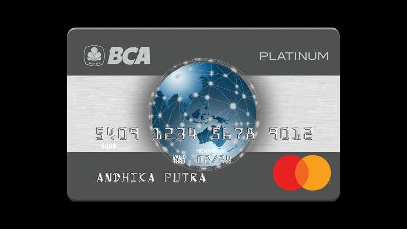Jenis Jenis Kartu Kredit BCA - Mastercard Platinum