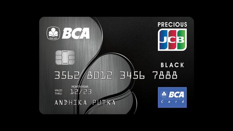 Jenis Jenis Kartu Kredit BCA - JCB Black
