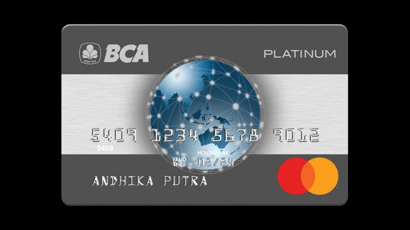 Jenis Kartu Kredit BCA Platinum - Mastercard Platinum