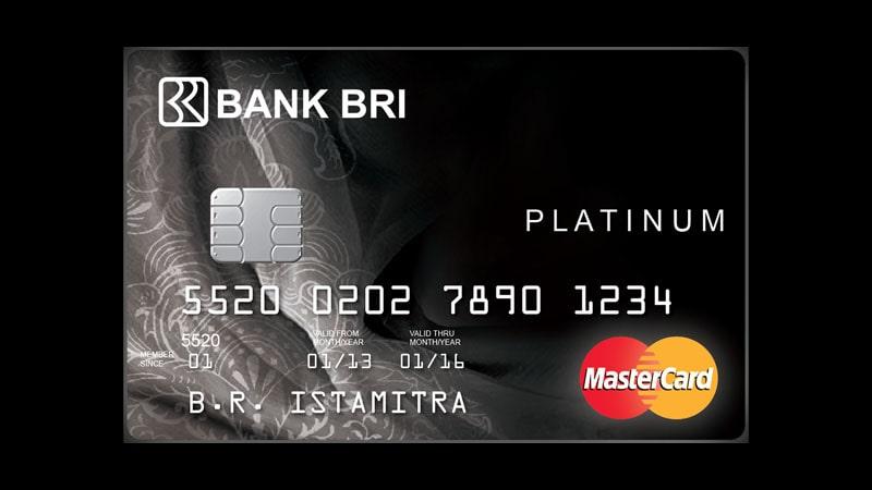 Jenis Kartu Kredit BRI - Platinum
