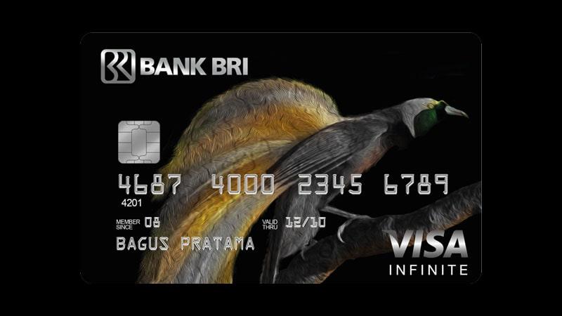Jenis Kartu Kredit BRI - infinite