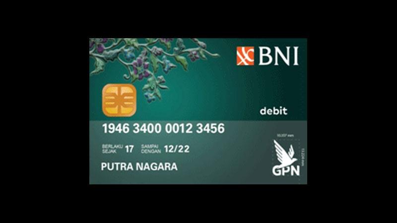 Jenis Kartu ATM BNI dan Limitnya - GPN Hijau