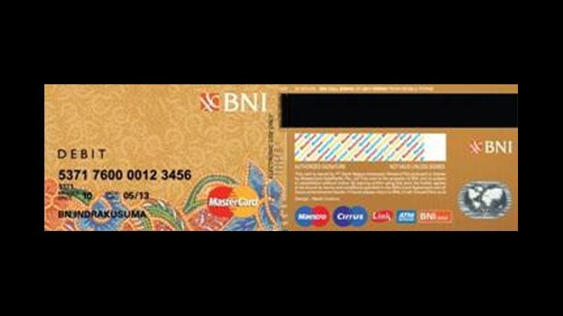Jenis Kartu ATM BNI dan Limitnya - BNI Gold