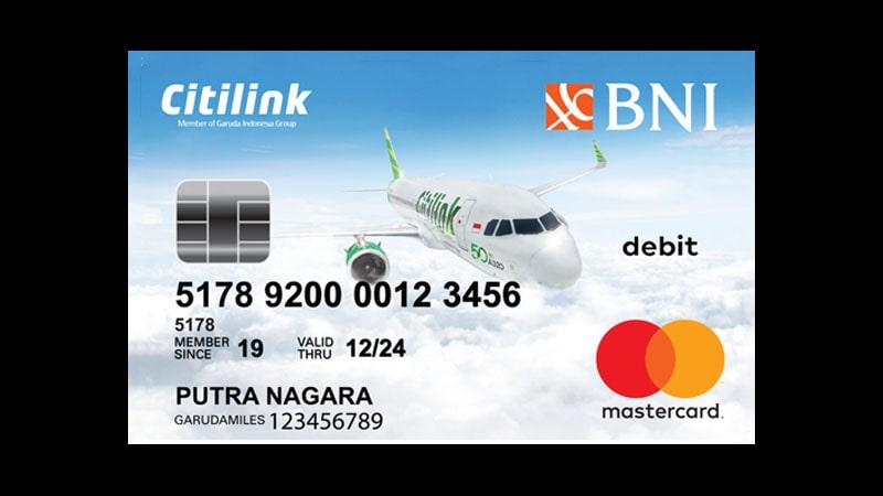 Jenis Kartu ATM BNI dan Limitnya - Citilink