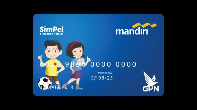 Jenis Jenis Kartu ATM Mandiri - SimPel