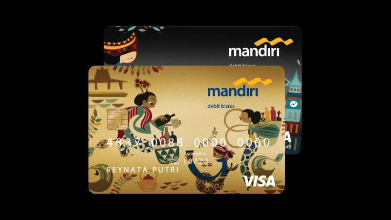 Jenis Jenis Kartu ATM Mandiri - Gold Bisnis Visa