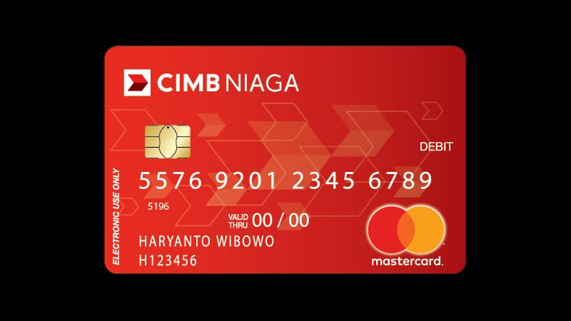 Macam Macam Kartu ATM CIMB Niaga - Mastercard