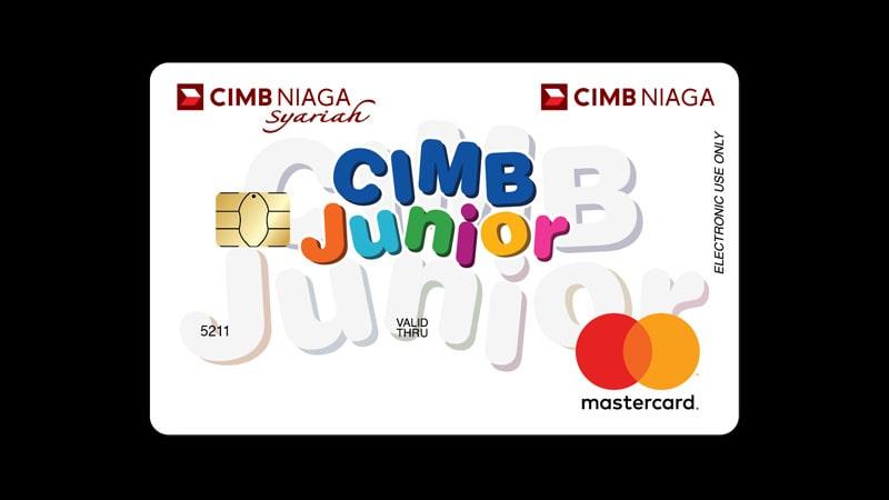 Macam Macam Kartu ATM CIMB Niaga - Junior