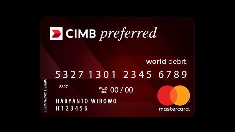 Macam Macam Kartu ATM CIMB Niaga - Preferred