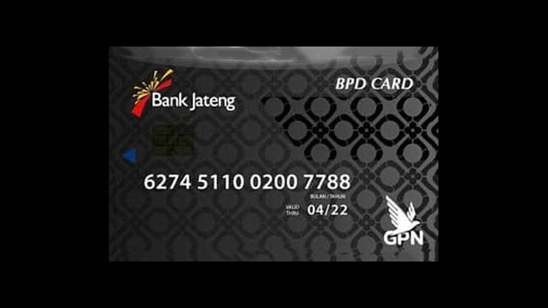 Jenis Kartu ATM Bank Jateng - BPD Card Platinum