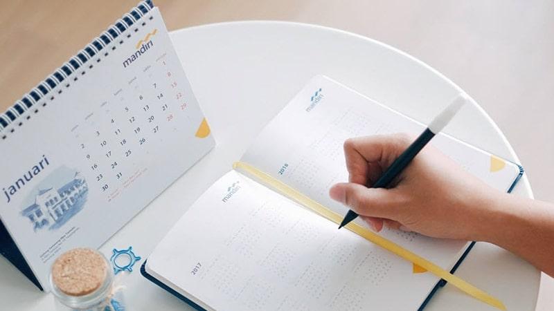 Tabungan Rencana Mandiri - Kalender