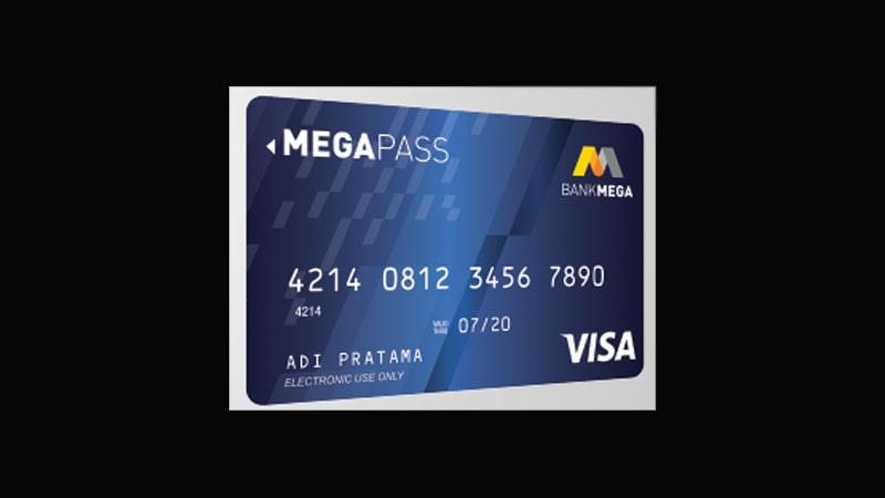 Jenis Kartu ATM Bank Mega - Preferred