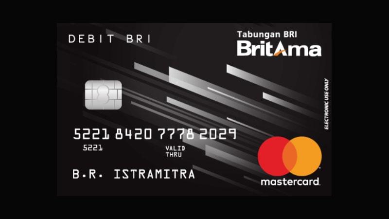Jenis Kartu ATM BRI - BritAma
