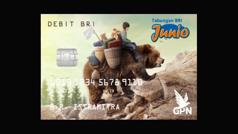 Jenis Kartu ATM BRI - Junio
