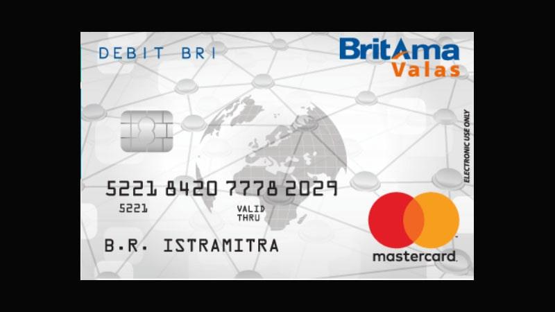 Jenis Kartu ATM BRI - BritAma Valas