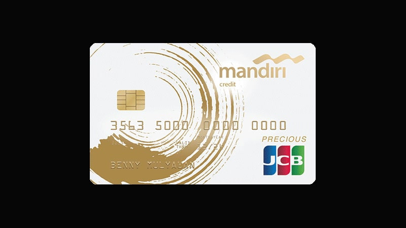 Jenis Kartu Kredit Mandiri - Precious