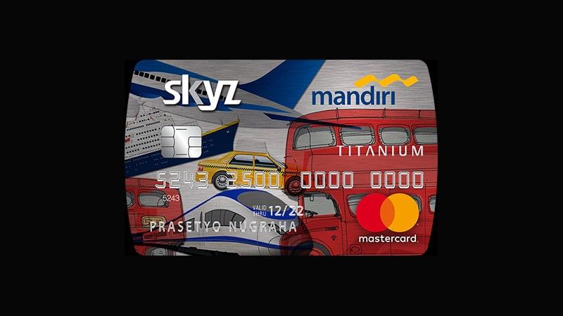 Jenis Kartu Kredit Mandiri - SKYZ