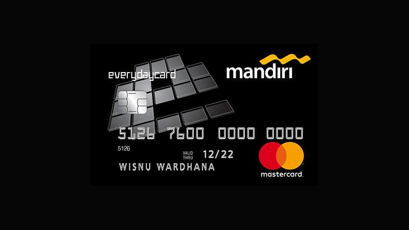 Jenis Kartu Kredit Mandiri - Everyday