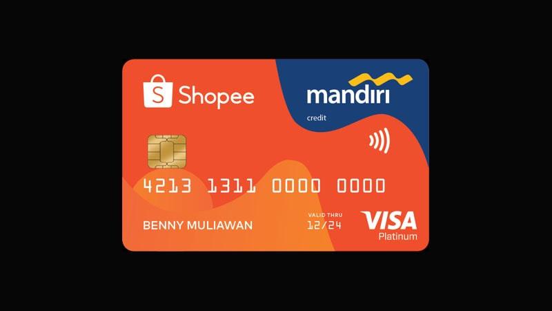 Jenis Kartu Kredit Mandiri - Shopee