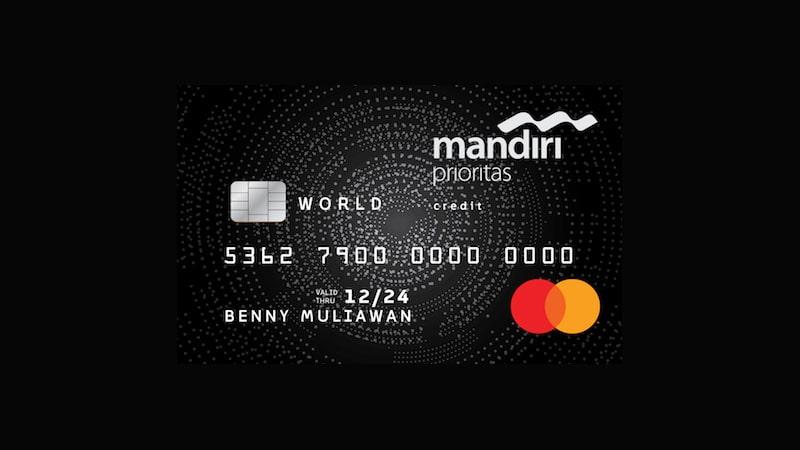 Jenis Kartu Kredit Mandiri - Prioritas