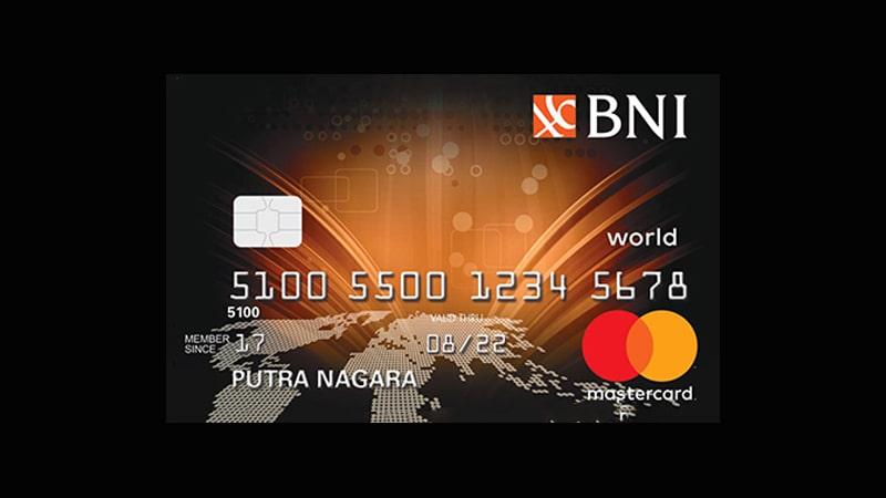 Jenis Kartu Kredit BNI - Mastercard World