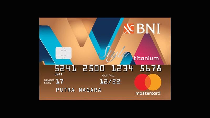 Jenis Kartu Kredit BNI - Style Titanium
