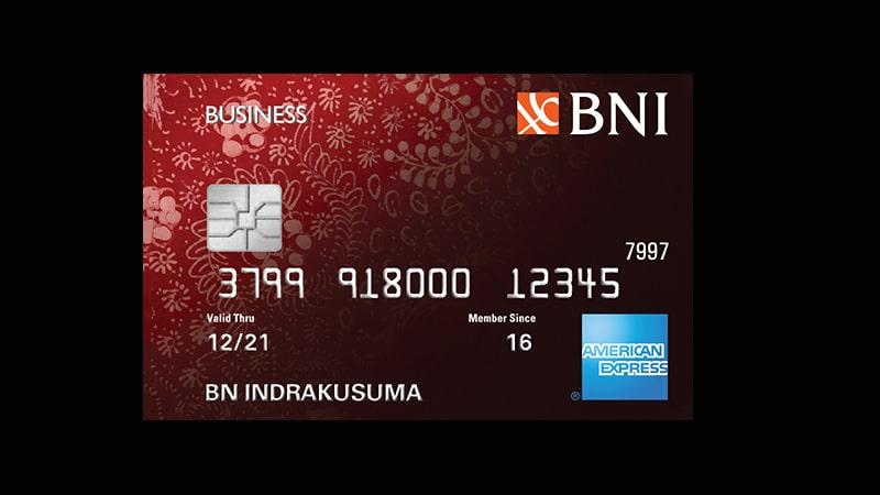 Jenis Kartu Kredit BNI - American Express