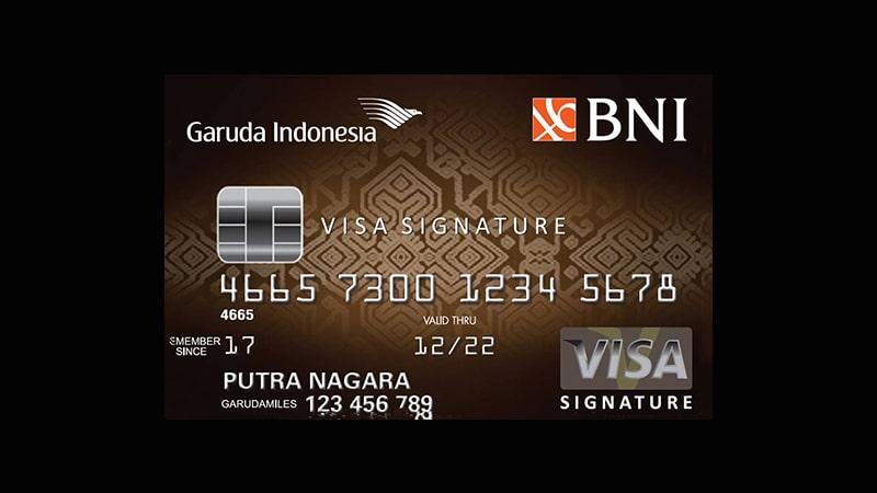 Jenis Kartu Kredit BNI - Garuda