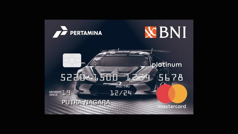 Jenis Kartu Kredit BNI - Pertamina