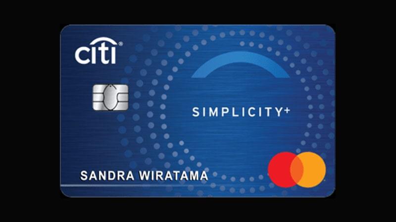 Jenis Kartu Kredit Citibank - Citi Simplicity+