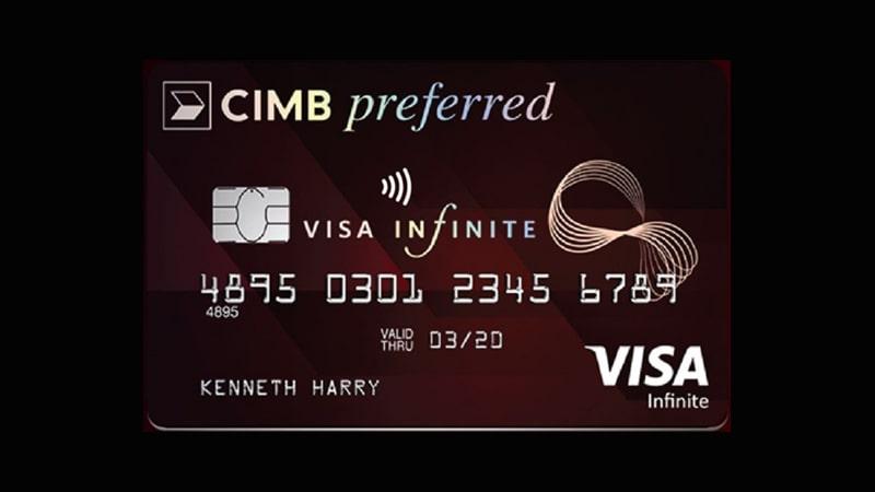 Jenis Kartu Kredit CIMB Niaga - CIMB Preferred Visa Infinite