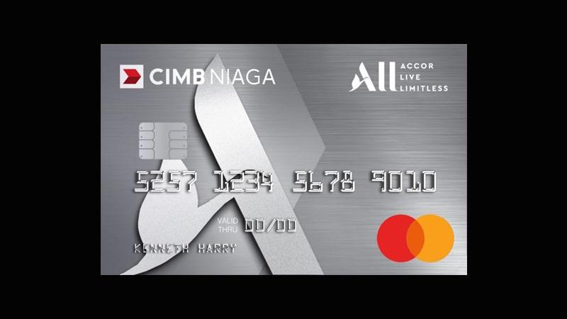 Jenis Kartu Kredit CIMB Niaga - CIMB Platinum All Accor Live Limitless