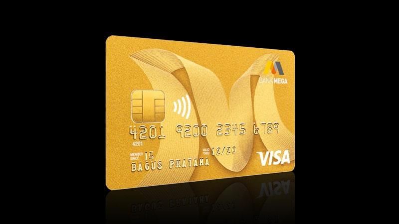 Jenis Kartu Kredit Bank Mega - Visa Gold