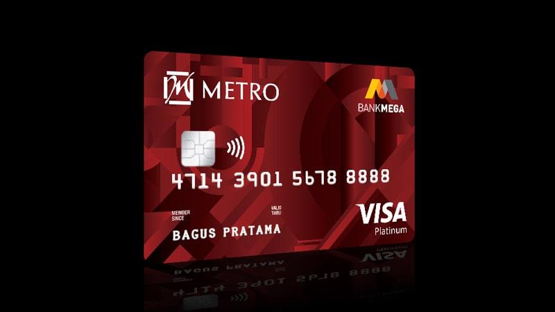 Jenis Kartu Kredit Bank Mega - Mega Metro