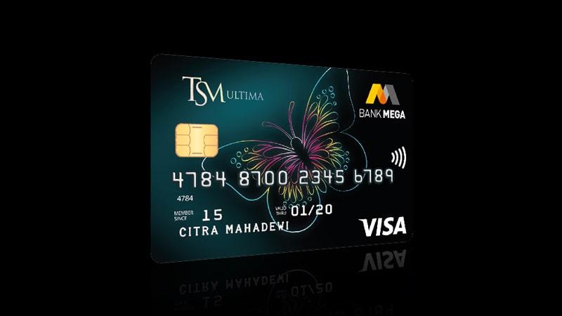 Jenis Kartu Kredit Bank Mega - TSM Ultima